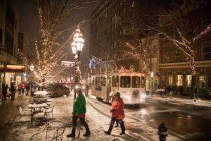 Bethlehem Christmas City Trolley